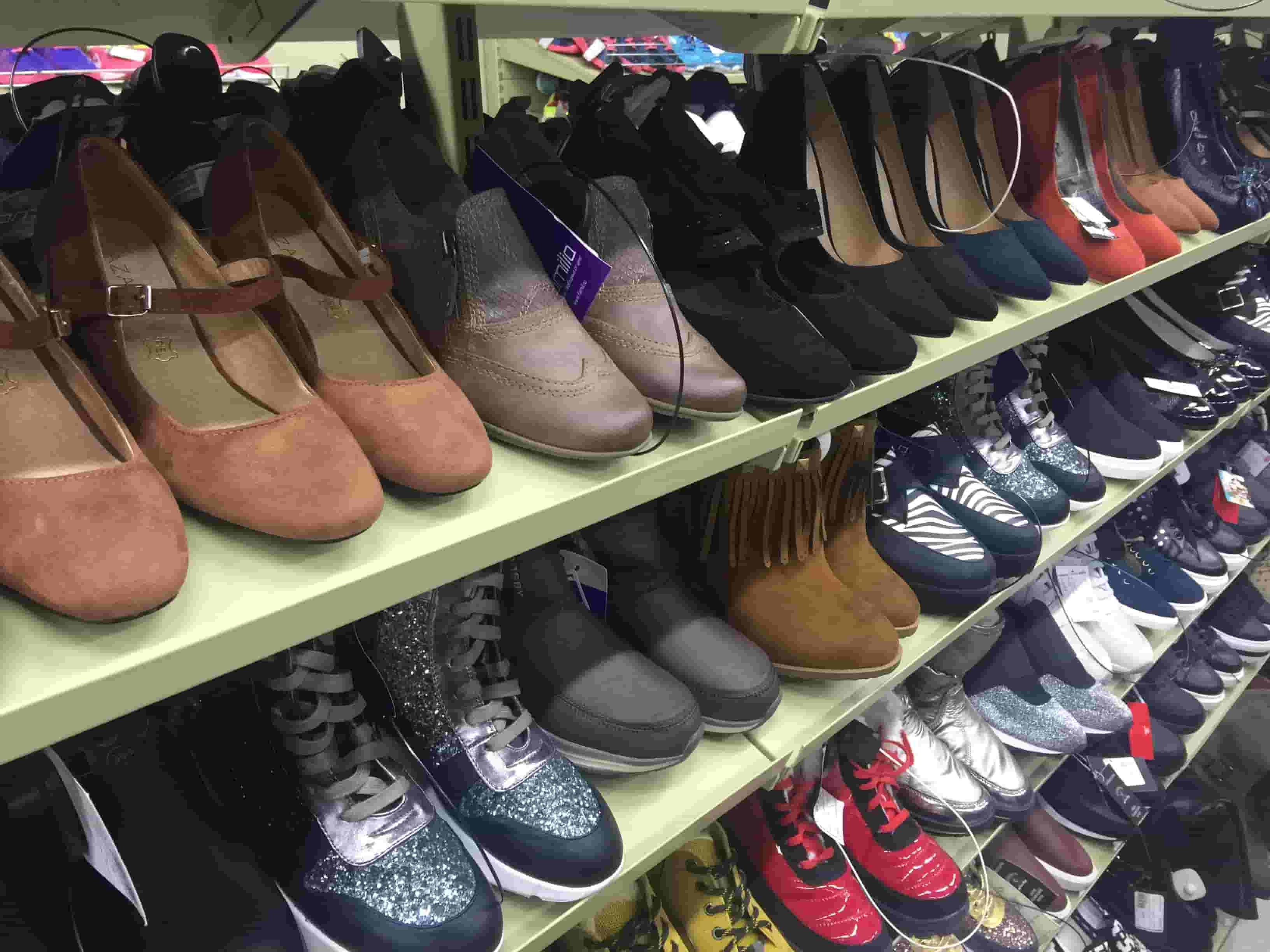 Разные типы обуви