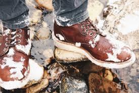 Правила ухода за зимней обувью