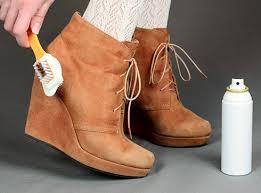 Правильный уход за обувью из нубука и замши